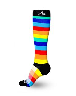 Newzill SWAG Compression Sock - Rainbow